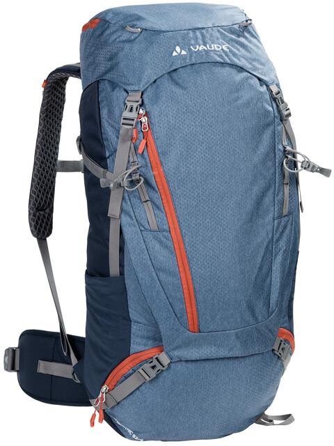 VAUDE Asymmetric 52+8 Backpack fjord blue